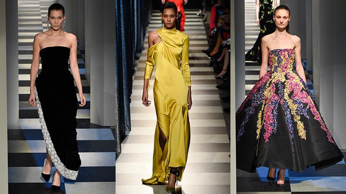 In a daring move, designers Laura Kim and Fernando Garcia decided to combine Monse and Oscar de la Renta's New York fashion week shows, with a total of 81 looks heading down the runway in succession. Here, the most breathtaking gowns from both fashion houses.