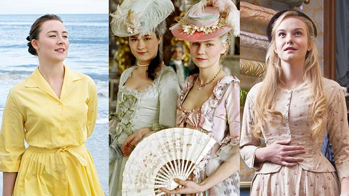 Here, we take a look at the most beautiful and memorable period costumes in film history.