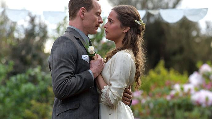 Although not sweeping and ostentatious, the costuming in 2016's <em>The Light Between Oceans</em>, set in 1918 Australia, is subtle and poignant. Especially on Alicia Vikander's character Isabel.