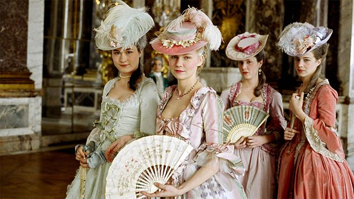 You might be able to find flaws within the direction or narrative of Sofia Coppola's <em>Marie Antoinette</em> (2006) but costuming probably won't be one of them. The costume design by Milena Canonerois masterful down to the last flounce and OTT ruffle.