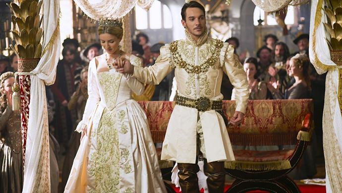 Similarly, <em>The Tudors</em> (2007) enjoyed four seasons of intricate and detailed costuming at the hands of Joan Bergin.