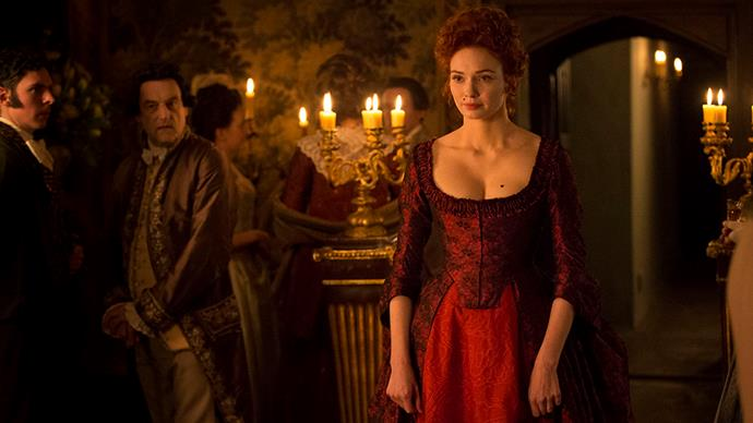 <em>Poldark</em> (2015) might be more well-known for portraying the less-glamorous and working class side of 1700s Cornwall, but, on occasion, the characters do enjoy a show-stopping moment (like this one from Demelza).