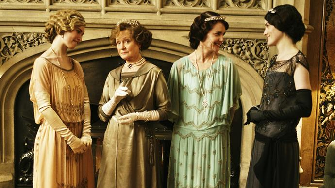 Although not always exciting with its drop-waists and shapeless shifts, <em>Downton Abbey's</em> costuming was always well-executed.