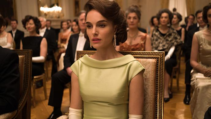 The impressive recreation of costumes by Madeline Fontaine in <em>Jackie</em> earned her an Oscar nomination.
