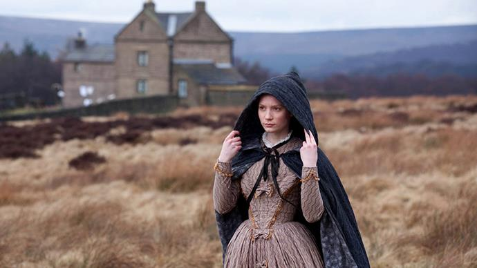 Although designed to make her look drab and boring, <em>Jane Eyre's</em> dresses were sublime in their make.