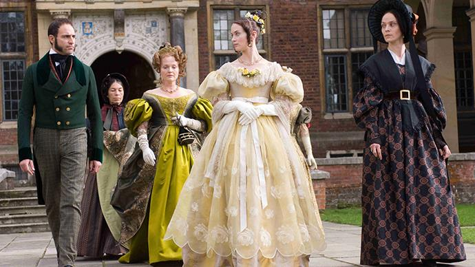 <em>The Young Victoria's</em> costume designer Sandy Powell picked up an Oscar for her work.