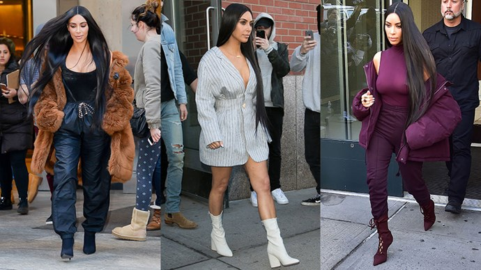 We chart Kim Kardashian West's best off-duty moments, as they happen.