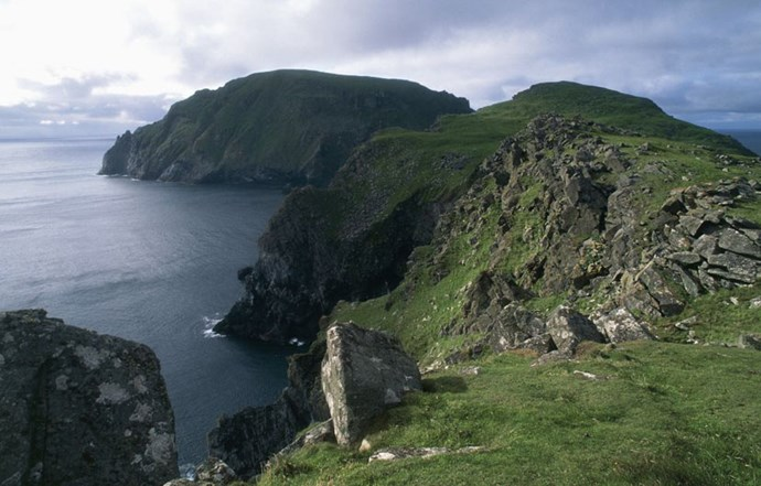 """<strong>8. St Kilda: Outer Hebrides, Scotland</strong> <br><br> <a href=""""http://whc.unesco.org/en/list/387"""">Scotland's first</a> UNESCO World Heritage Site is located off-shore from the Outer Hebrides (a chain of islands off the nation's west coast) and features unbelievable <a href=""""http://www.bsac.com/diverreports.asp?section=1248&sectionTitle=UK&itemid=2275"""">underwater caves and arches</a>, making it a favourite spot for UK divers. The site is a natural wonder, with some of Europe's most dramatic cliffs and large numbers of rare birds like puffins."""