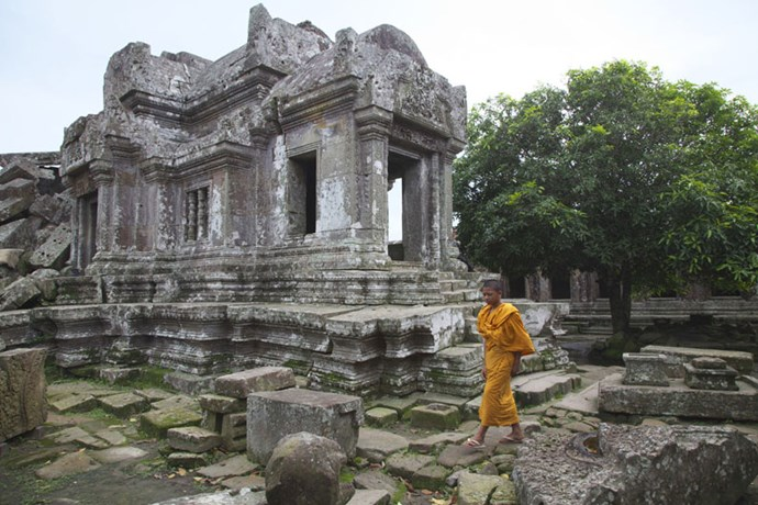 """<strong>12. Preach Vihear Temple: Preach Vihear, Cambodia</strong> <br><br> This 9th-century Hindu temple features awe-inspiring ancient architecture atop a cliff in the Dângrêk Mountains. The site just <a href=""""http://www.telegraph.co.uk/travel/destinations/asia/cambodia/articles/Preah-Vihear-temple-in-Cambodia-now-safe-to-visit/"""">became safer for tourists</a> in 2015, after a seven-year dispute between Cambodia and Thailand over who owned the land came to an end."""
