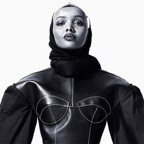 <strong>4. She's Gigi Hadid approved</strong> <BR><BR> It doesn't hurt to have the approval of one of the world's biggest supermodels of the moment. Gigi Hadid posted this picture of Halima (from the inside spread of <em>CR Fashion Book</em>) a day after IMG, who used the photo to announce their representation of the up-and-coming model.