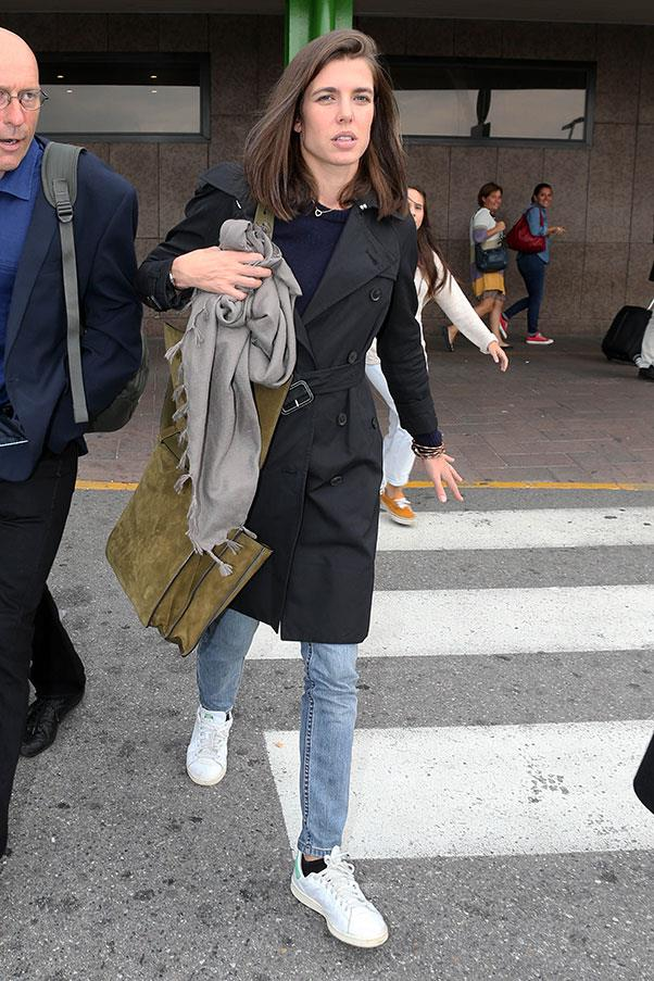 Off-duty in Milan, September 2015.