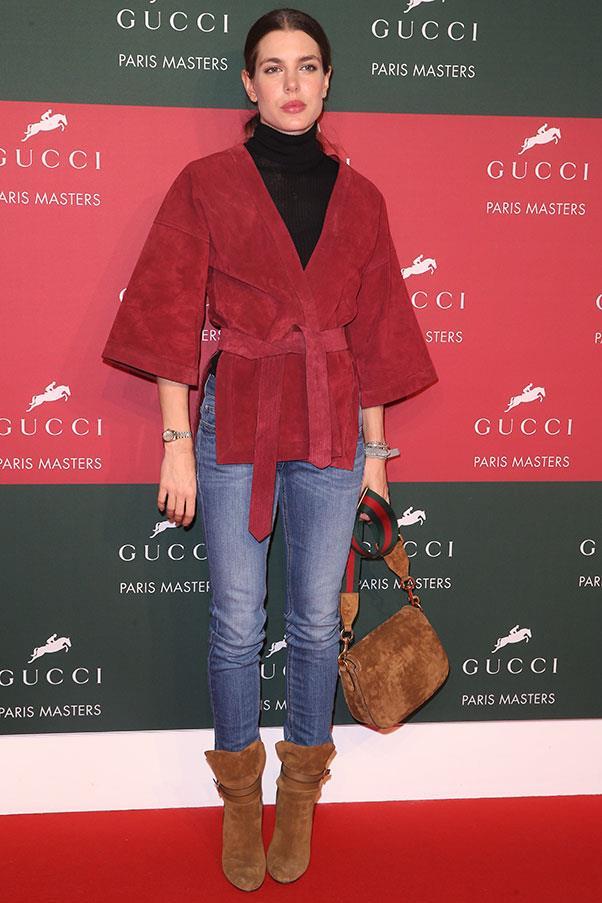 At the Gucci Paris Masters, December 2014.