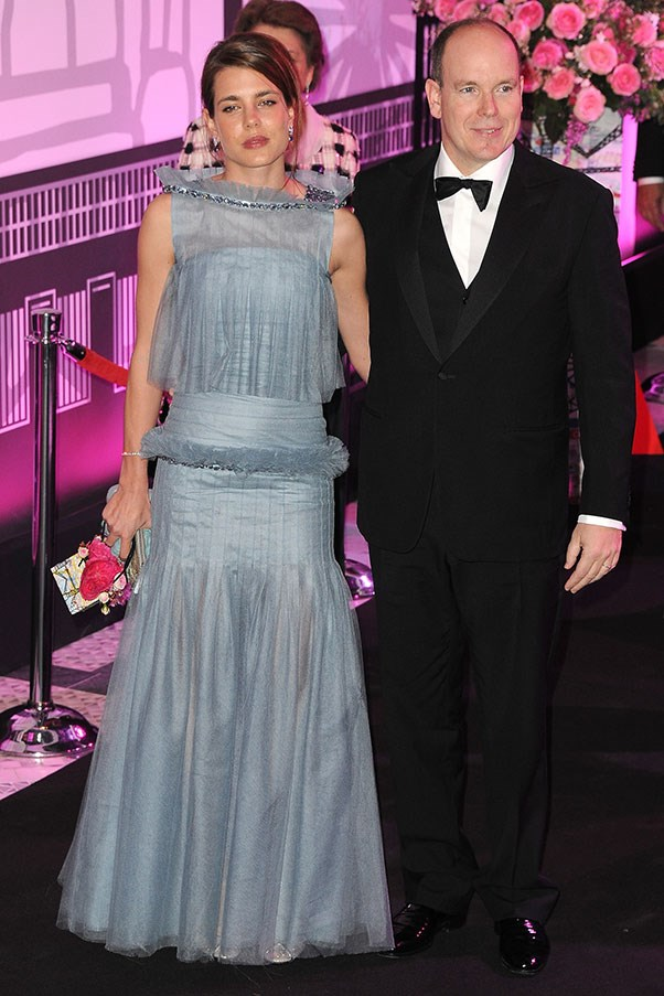 At the Monaco Rose Ball, March 2012.
