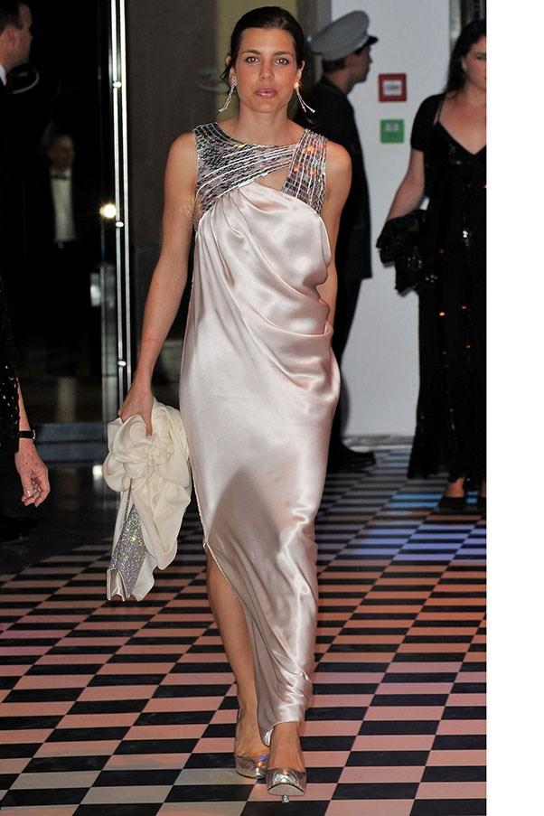 At the Monaco Rose Ball, March 2010.