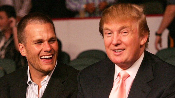 """<strong>8. Tom is reportedly friends with Donald Trump</strong> According to <a href=""""https://www.nytimes.com/2017/02/01/magazine/the-uncomfortable-love-affair-between-donald-trump-and-the-new-england-patriots.html?_r=0"""">The New York Times</a>.Trump has been quoted calling Tom, """"a really good friend of mine."""""""