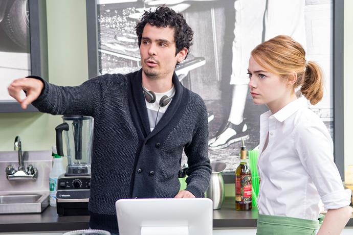 <strong>BEST DIRECTOR</strong> <br><br> <strong>Nominees:</strong> Denis Villeneuve for <em>Arrival</em>, Mel Gibson for <em>Hacksaw Ridge</em>, Damien Chazelle for <em>La La Land</em>, Kenneth Lonergan for <em>Manchester by the Sea</em>, and Barry Jenkins for <em>Moonlight</em>. <br><br> <strong>Predicted winner:</strong> Damien Chazelle. This young, talented director, who was the man behind 2015 Best Picture nominee <em>Whiplash</em>, has made a huge impact on the film industry in the last six months. His vision of a traditional yet modern musical has already earned him a lot of critical acclaim so far.