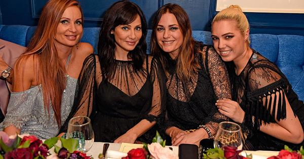 Immy Waterhouse, Yasmin Le Bon And Natalie Imbruglia