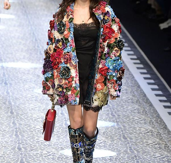 Dolce and Gabbana Runway Real People