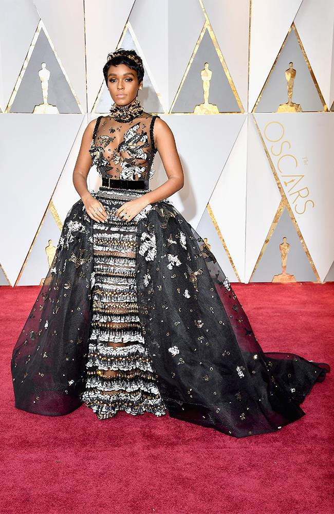 "<strong>Janelle Monae: </strong> <br><br> ""Try as I might I just don't ""get"" Janelle Monae's style."" — Grace O'Neill, acting digital fashion editor"