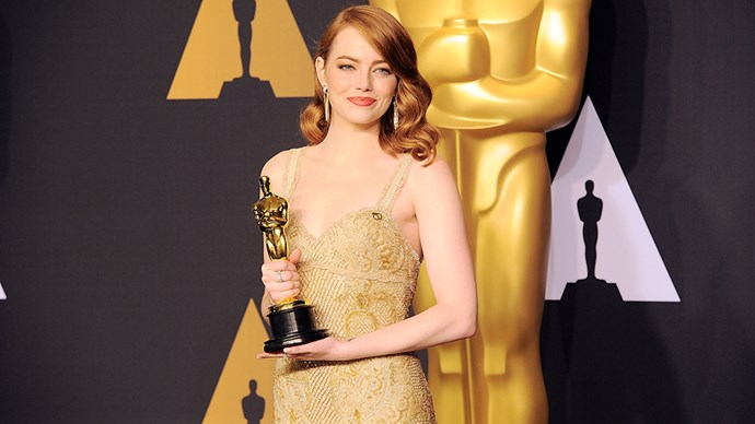Emma Stone's Oscars Givenchy gown was Riccardo Tisci's last couture dress for the house, taking over 1,700 hours and a team of 11 from the Givenchy Atelier. See the breathtaking creation here.