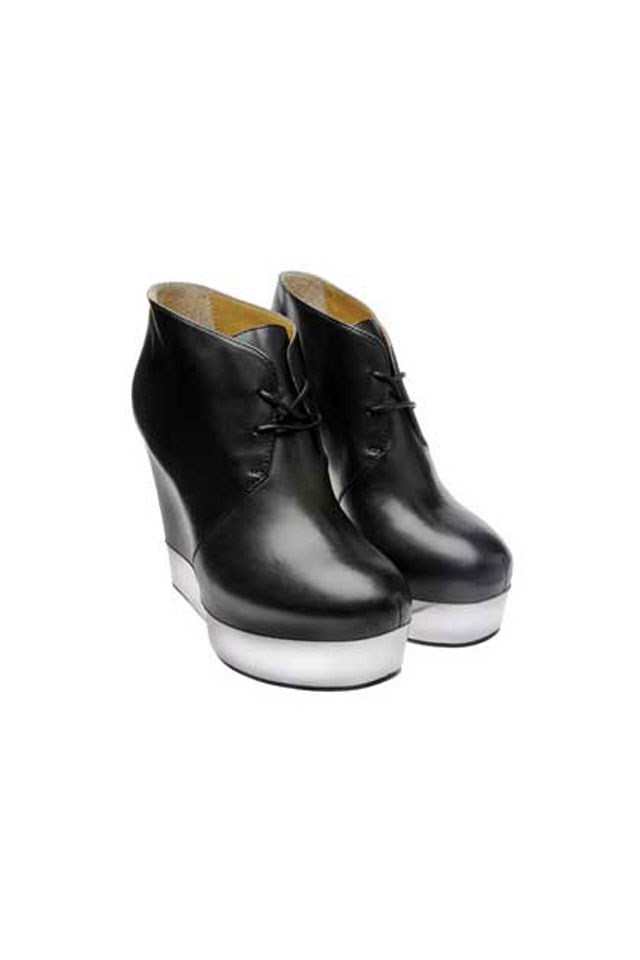 <strong>Acne, Atacoma Lace-Up Wedges</strong>