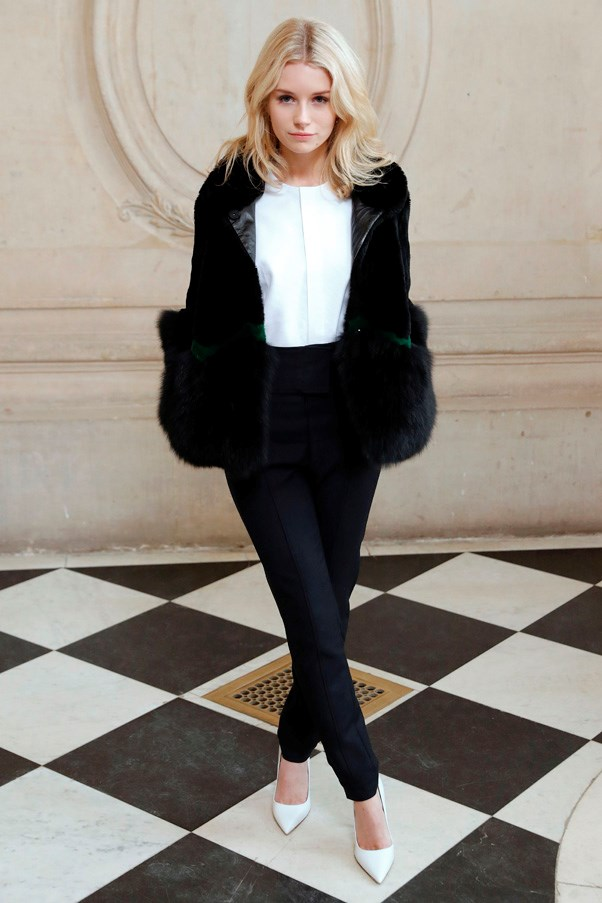<strong>Dior</strong> <BR><BR> Lottie Moss