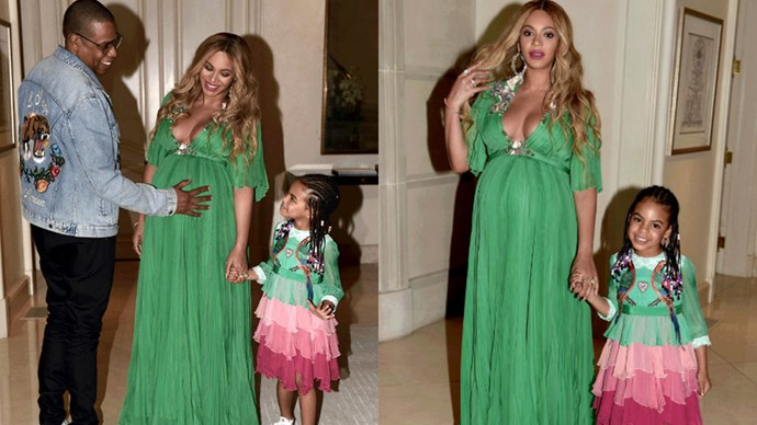 We track the best maternity style - from fashion girls in Paris to celebrities on the Hollywood red carpet...<br><br> Images: <em>Beyonce.com</em>