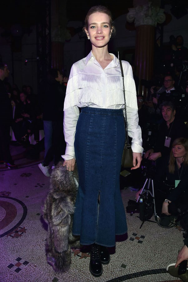 <strong>Stella McCartney</strong> <br><br> Natalia Vodianova