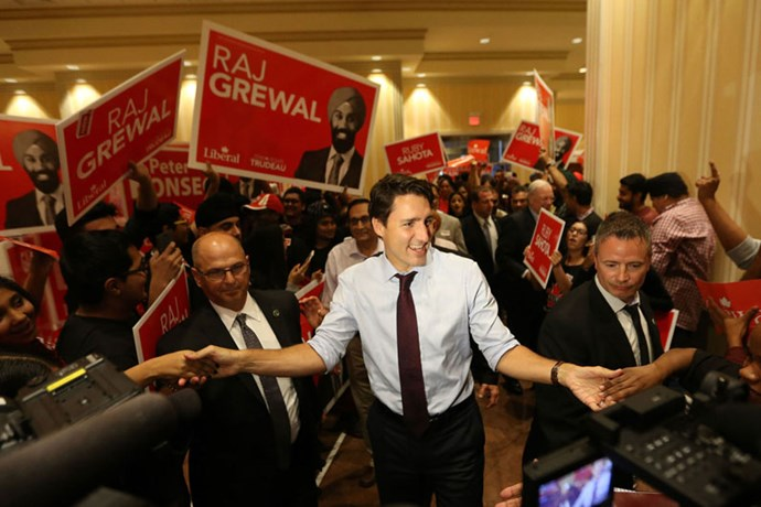 During the Canadian Federal Election, 2015