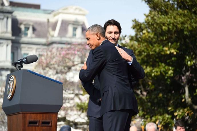 Embracing Obama like there is no tomorrow, 2016