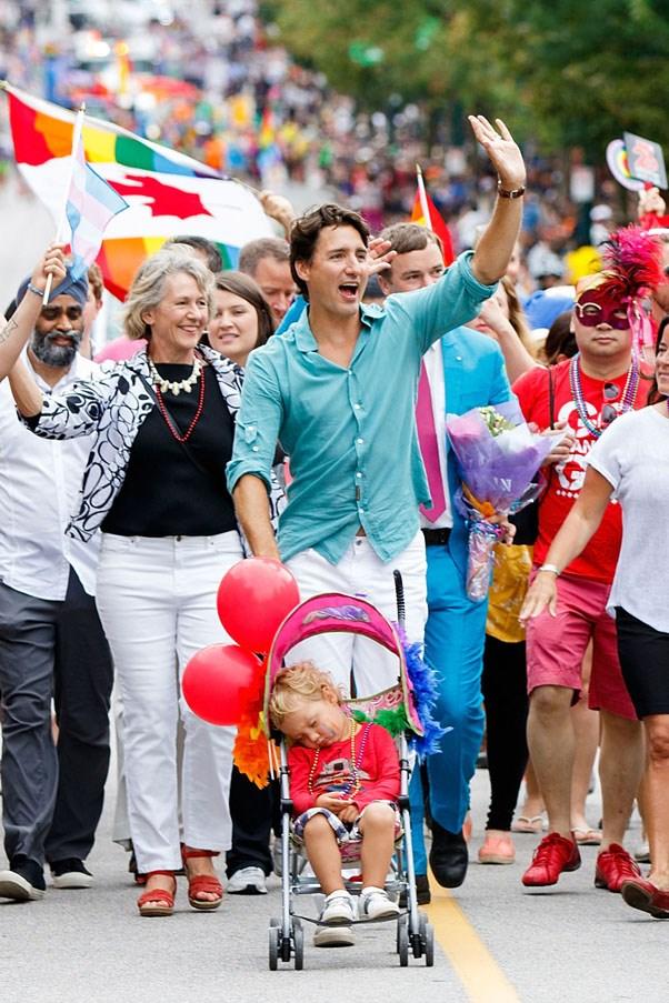 Making you wish you were in that stroller at Vancouver Pride, 2016
