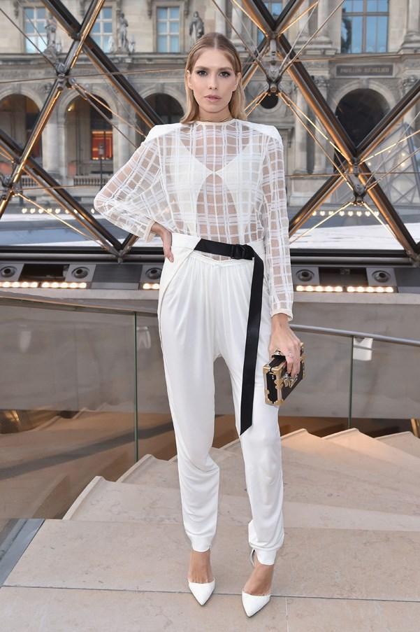 Elena Perminova in Louis Vuitton
