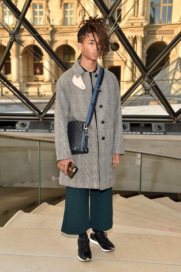 Jaden Smith in Louis Vuitton