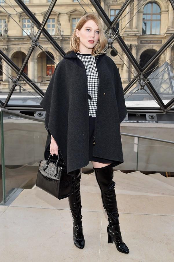 Lea Seydoux in Louis Vuitton