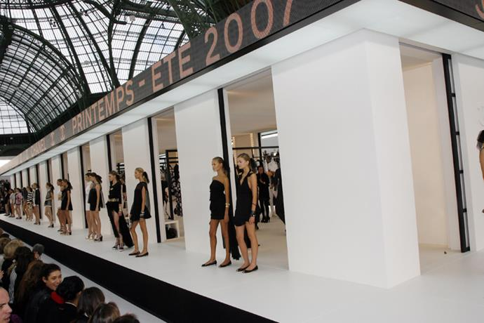 <p> <strong>THE STORE FRONT</strong> <P> <em>Spring summer '07</em>