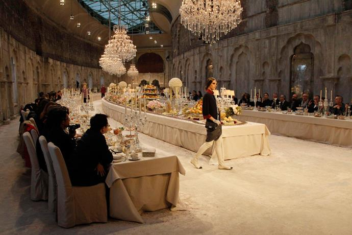 <p> <strong>THE DINNER SCENE</strong> <P> <em>Couture '11</em>