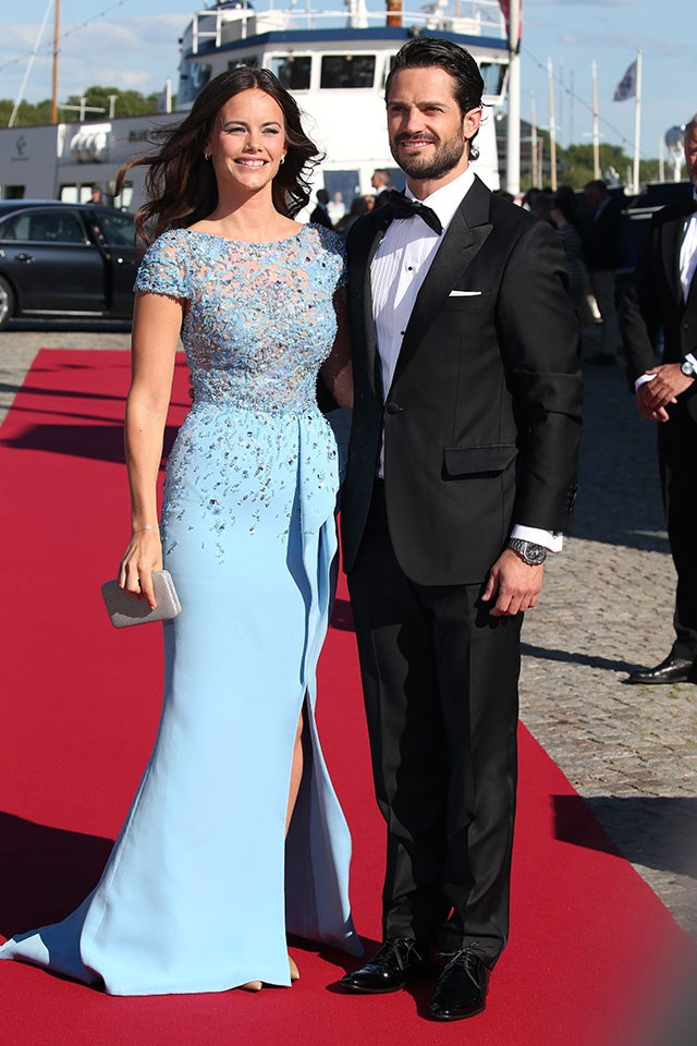 <strong>Princess Sofia of Sweden</strong> <br><br> It was a little controversial when Princess Sofia and Prince Carl Phillip of Sweden got together, because she was a former glamour model who'd appeared on a reality show called <em>Paradise Hotel</em>.