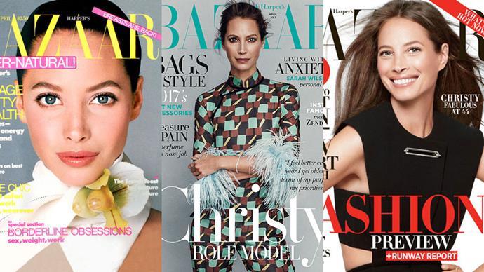 To celebrate <em>Harper's BAZAAR</em> Australia's April 2017 issue, starring Christy Turlington, we're charting the supermodel's best <em>BAZAAR</em> covers to date.