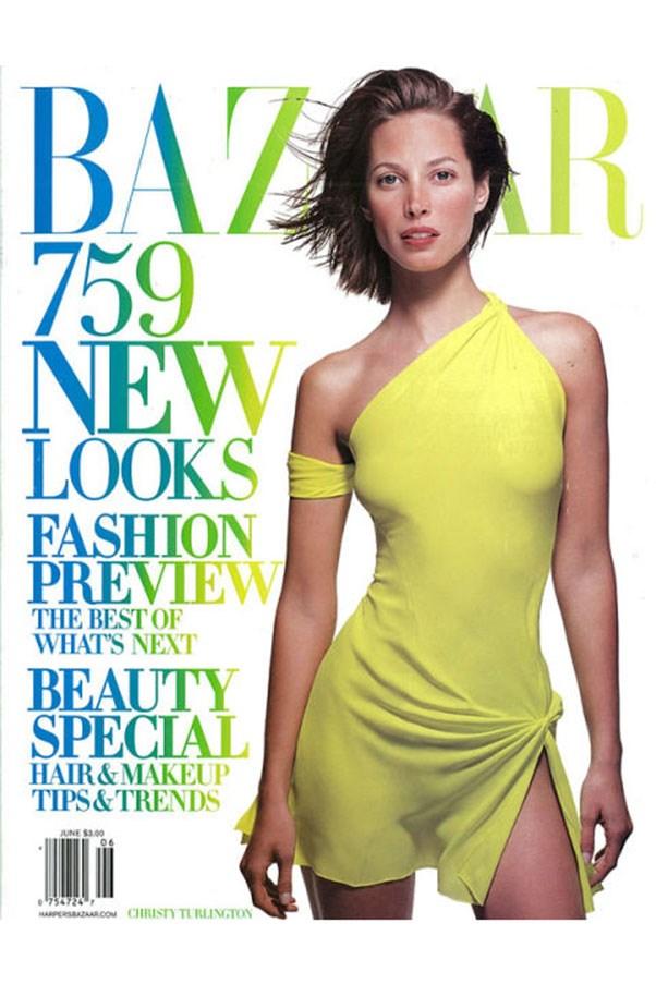 <em>Harper's BAZAAR</em> US, June 2002. Shot by Patrick Demarchelier.