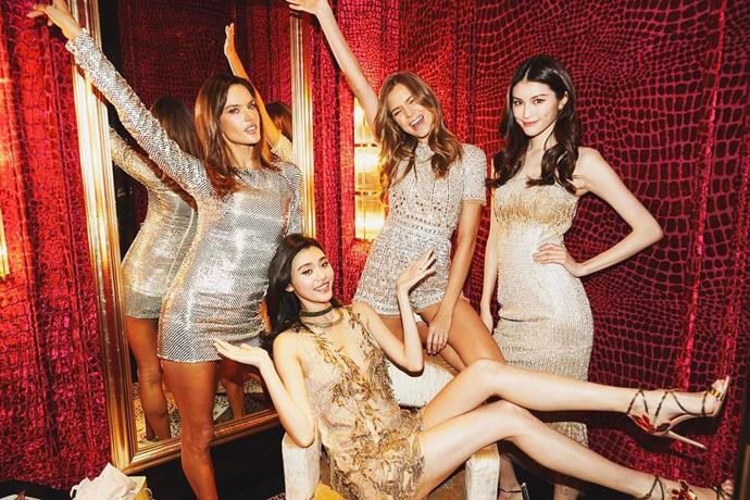 "Four stunners in the angel suite. <br><br> Image: <a href=""https://www.instagram.com/p/BRcZHTnDJ5G/"">@hesui93</a>"