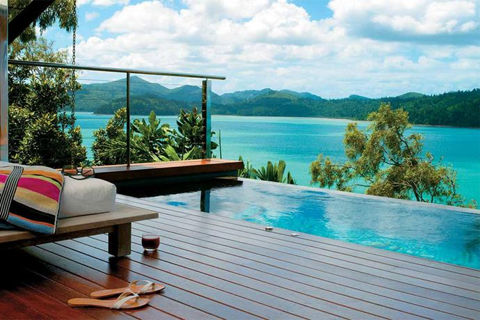 "<a href=""http://www.qualia.com.au/"" target=""_blank""><strong>Qualia, Hamilton Island</strong></a> <br><br> This is what it looks like when you can swim in water as blue and vibrant as the scenery around you. It's perfect for those who want the feel of swimming in open water in the safety of a luxury resort."