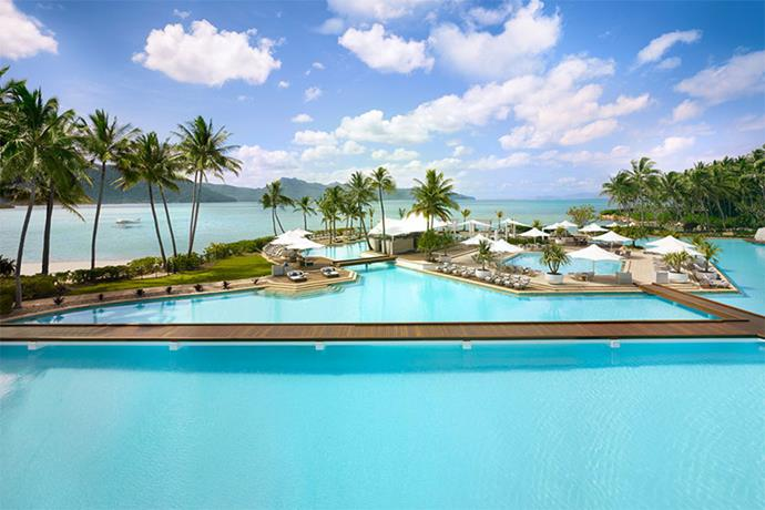 "<a href=""https://www.oneandonlyresorts.com/one-and-only-hayman-island-australia/activities"" target=""_blank""><strong>One&Only Hayman Island Hayman Pool, Queensland</strong></a> <br><br> With more water than you could possibly need for swimming (it's seven times the size of the Olympic pool) and four private cabanas, it's safe to say leaving this pool is the hard part."