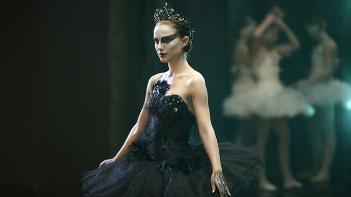 <p>Rodarte for <em>Black Swan (2010)</em><p> Although there was a swirl of controversy about just how much the Rodarte designers, Kate and Laura Mulleavy, contributed to the wardrobe, they did admit to designing the black and white swan costumes.