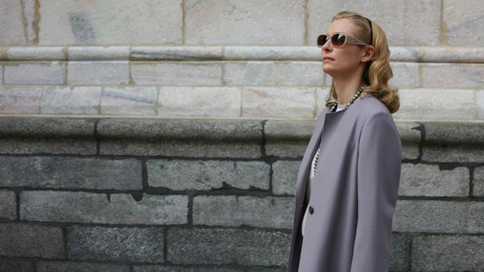 <p>Jil Sander by Raf Simons for <em>I Am Love (2009)</em><p> Many of the expertly crafted and tailored looks on Tilda Swinton in <em>I Am Love</em> were designed by Raf Simons for Jil Sander.