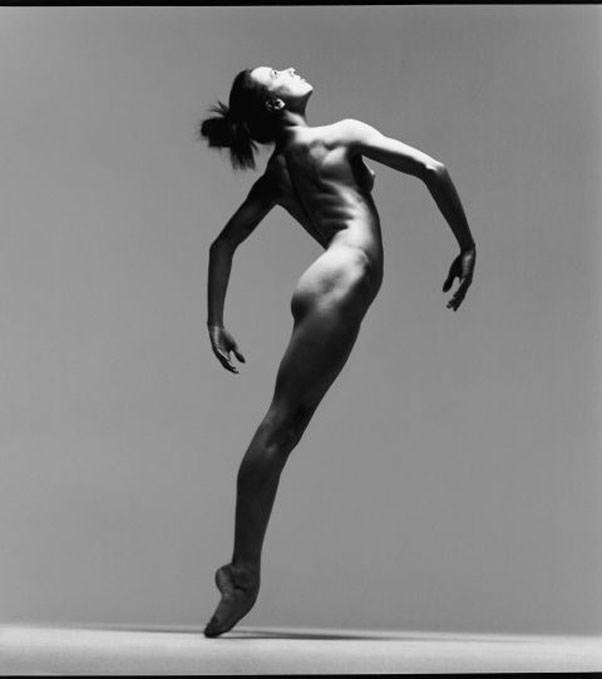 Dancer Sylvie Guillem, New York, March 11, 1991