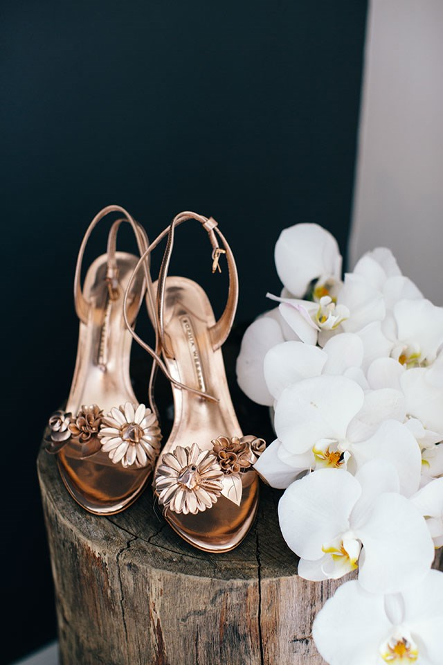 <strong>On the accessories: </strong> <br></br> I loved my Sophia Webster rose gold heels, they were a perfect little addition to what was a classic wedding look. The best part is, I will definitely wear them again.