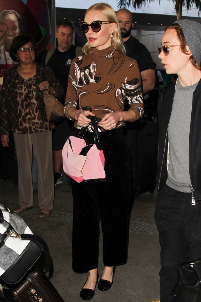kate bosworth celebrity style airport style
