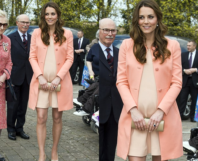 "**Thou shalt never clash thy colours** Although Kate has worn practically every colour under the sun (except orange—which she has never worn), Kate doesn't usually mix colour palettes. The Duchess tends to stick to monochrome palettes and similar tones, which means you won't see her wearing any [Victoria Beckham-esque](http://www.harpersbazaar.com.au/people-parties/the-a-list/2017/2/victoria-beckham-off-duty-style-file/|target=""_blank"") colour-clashing."