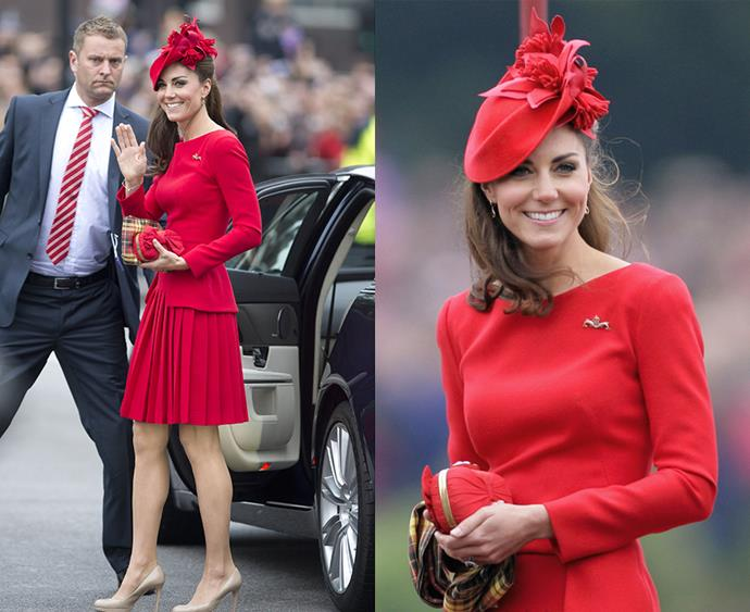 "**Thy hat shalt never be too large** It's been well documented that Kate loves a good hat (just as much as she loves matching them to [her outfits](http://www.harpersbazaar.com.au/people-parties/the-a-list/2017/3/kate-middleton-rainbow-hat-wardrobe/|target=""_blank"")), but even Kate's hats have rules. As a general guideline, Kate's hats do not obscure her face, and are never too large, which would prevent her from entering and exiting vehicles and doors."
