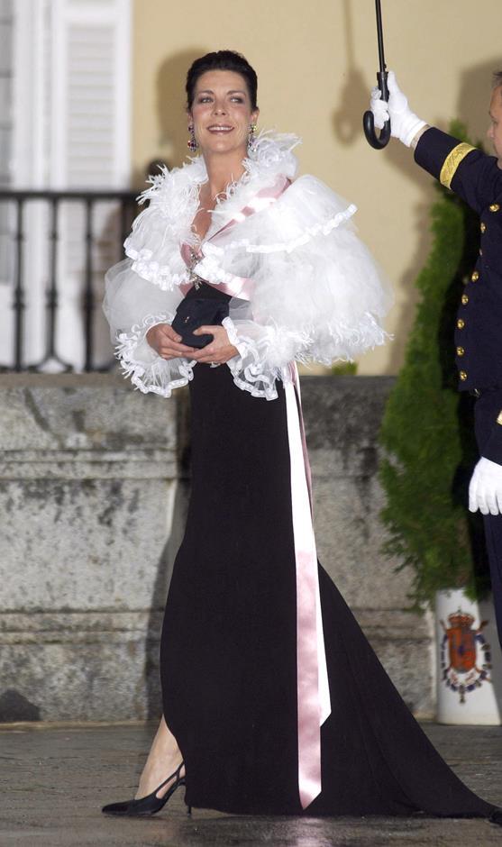 At a 2004 royal gala in Spain.